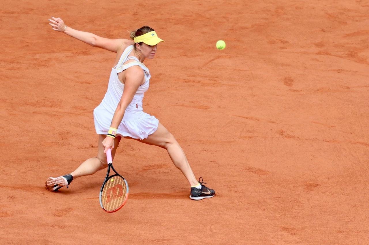 Anastasia Pavlyuchenkova a tenté de résister malgré sa blessure.